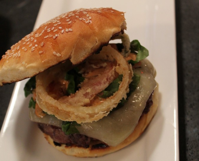 chefs loaded burger