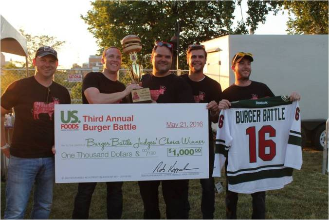 Burger Battle Champ Red Cow